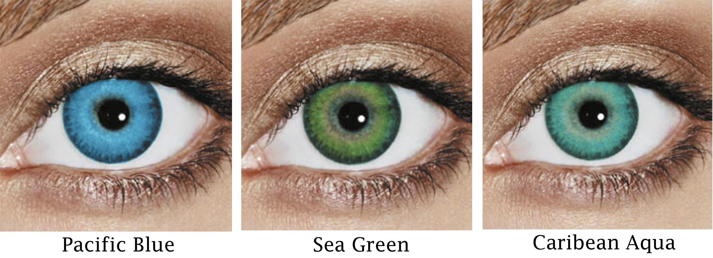 Freshlook Dimensions Sea Green On Eyes Anexa Market