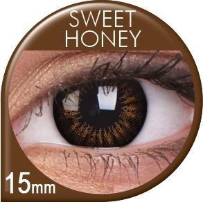 Sweet Honey pruunid läätsed
