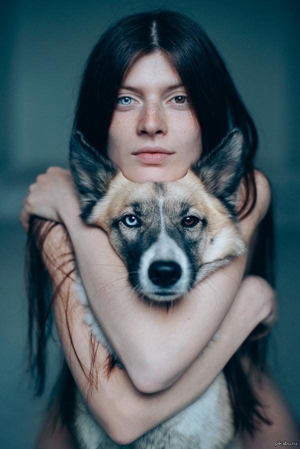 Heterokroomia naisel ja koeral