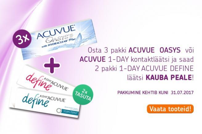 ACUVUE OASYSE kampaania - Mobile