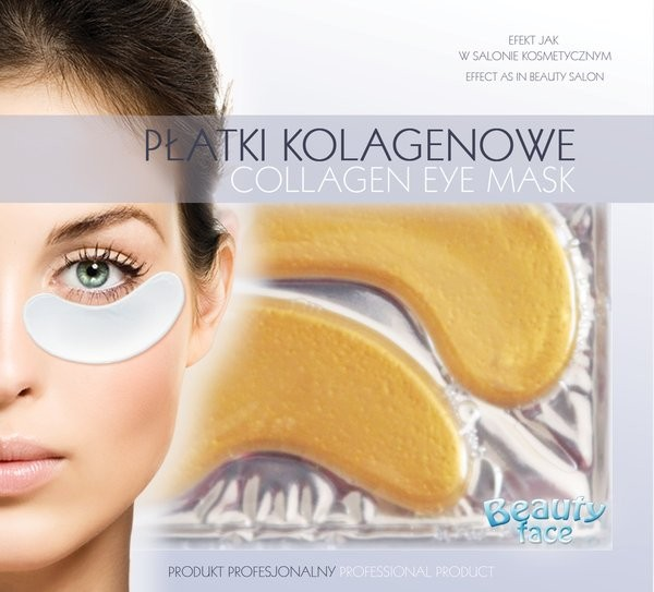 Beautyface Collagen Eye Patch 24K Gold&Hyaluronic Acid Anti Wrinkle