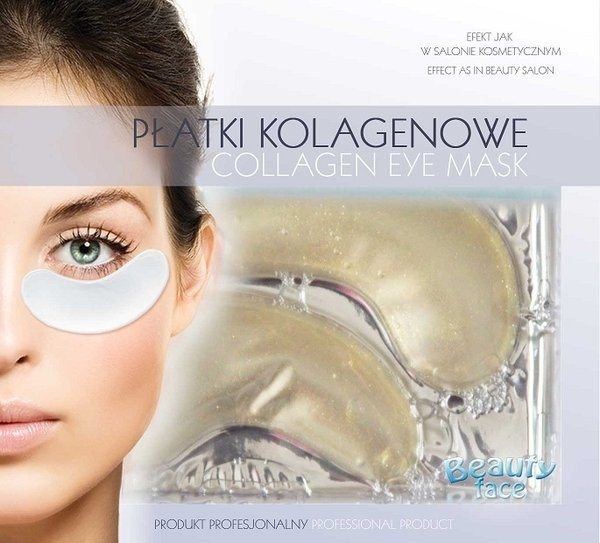 Beautyface Collagen Eye Patch Diamond&Gold Anti-Ageing