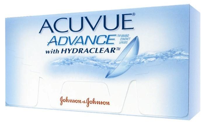 Acuvue Advance BC 8.7 6tk - tühjendusmüük!