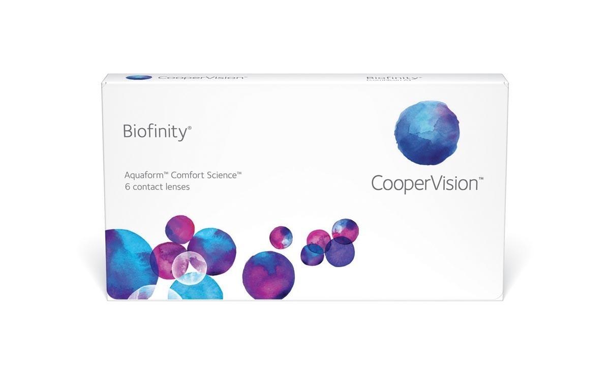 Biofinity - ühed parimad läätsed maailmas