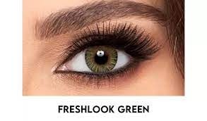 Freshlook Colorblends Green -1,25;-5,75 - tühjendusmüük!