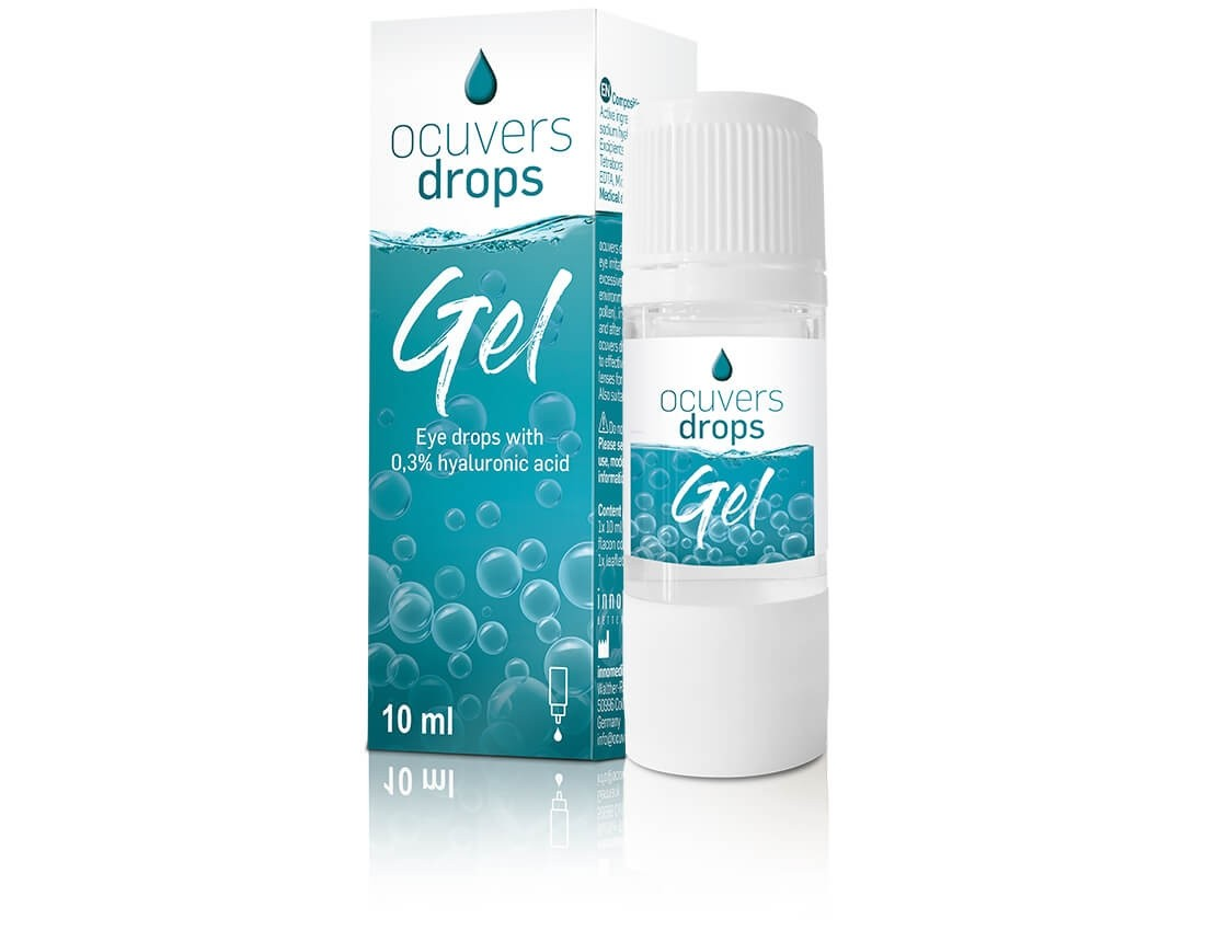 Ocuvers drops gel 10ml