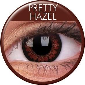 Pretty Hazel pruunid läätsed