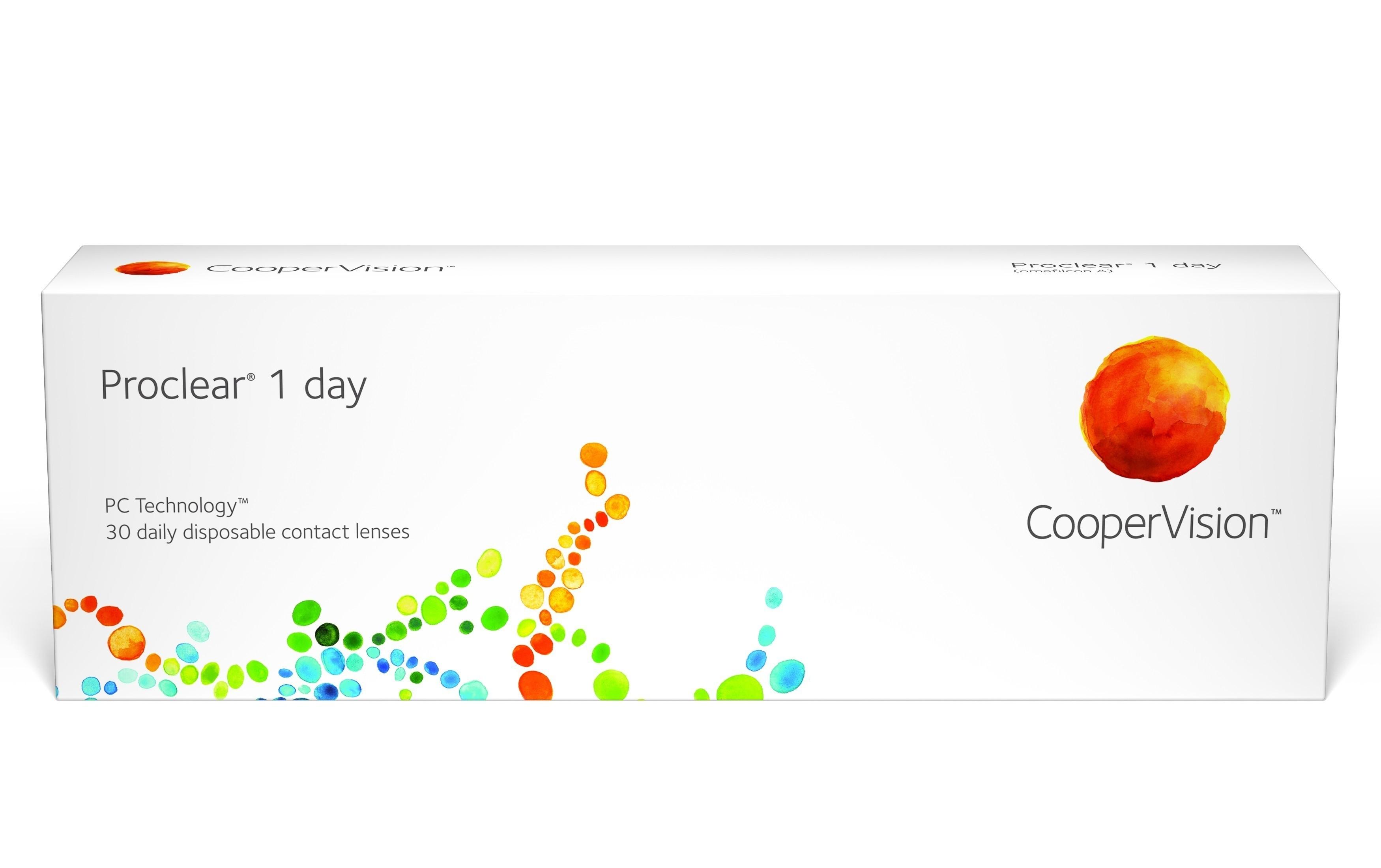Proclear OneDay +1.00; +1.25 - tühjendusmüük