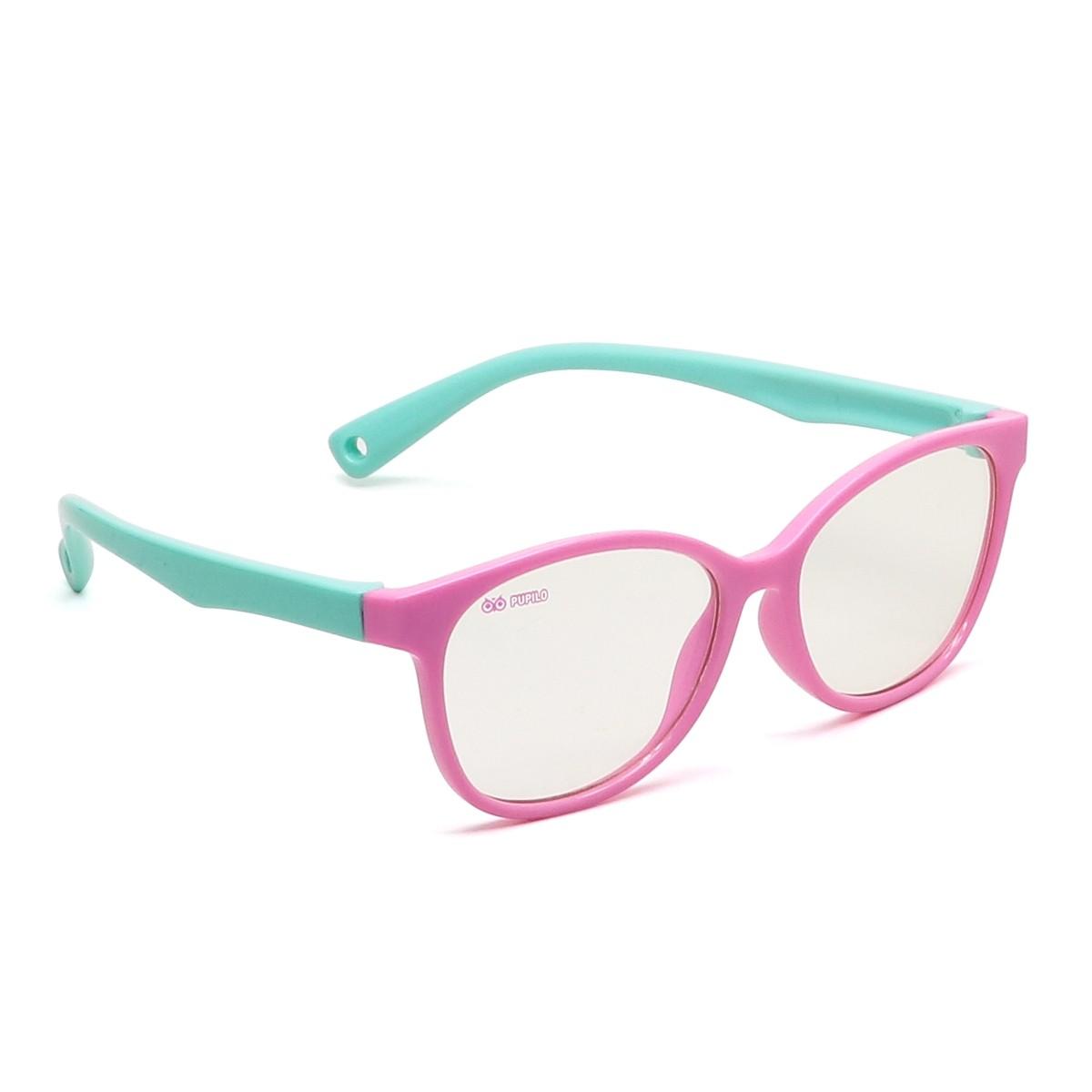 Pupilo Pink Fun sinise valguse lasteprillid