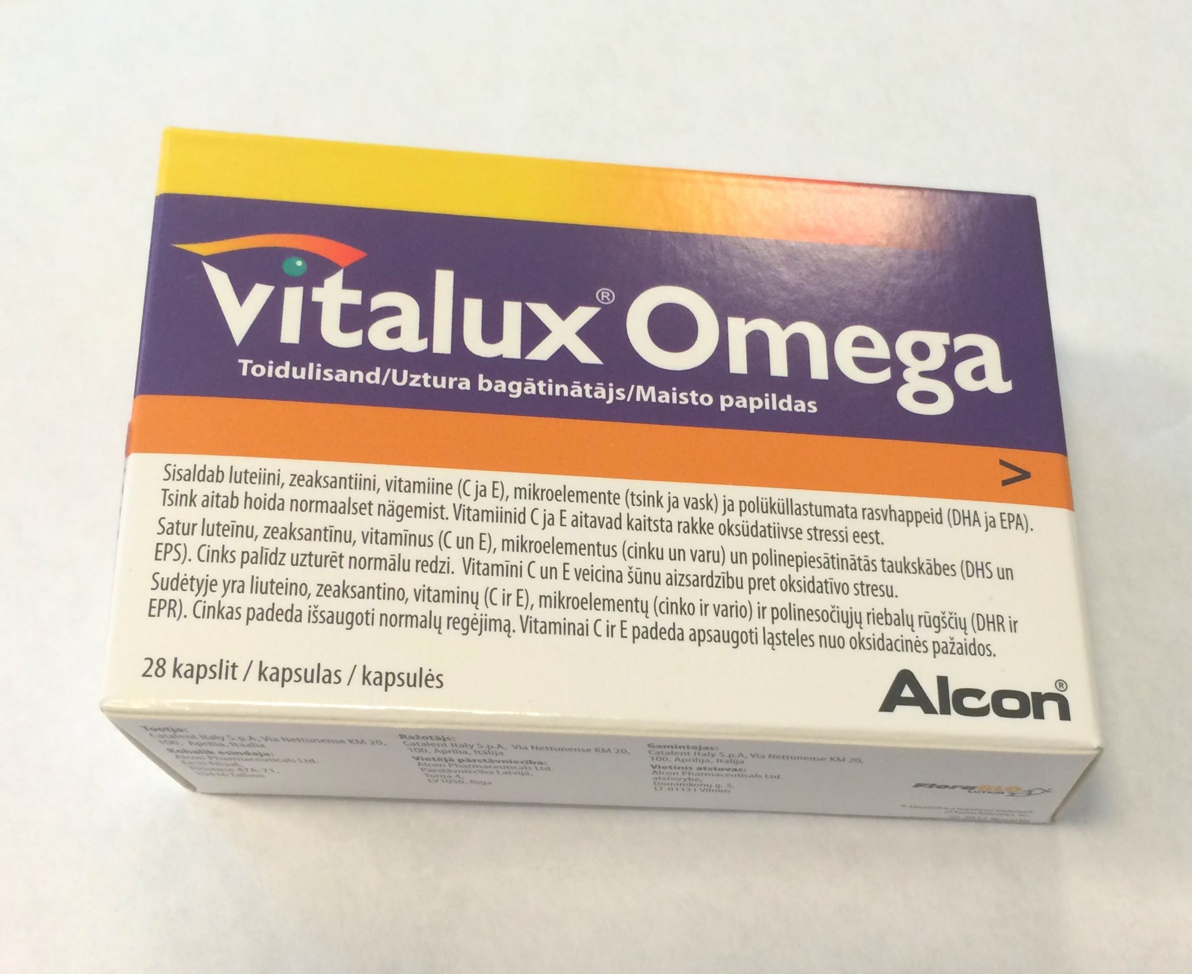 Vitalux Omega
