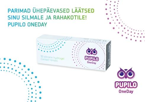 Pupilo OneDay ühepäevased läätsed