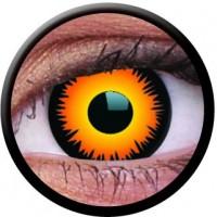 Oranžid kontaktläätsed